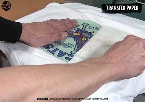 Kertas Transfer Sublime Perbedaan Antara Sablon Kaos Polyflex Vs Transfer Paper