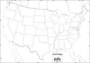 Free United States Map Outline Printable by Free Map Of U S A