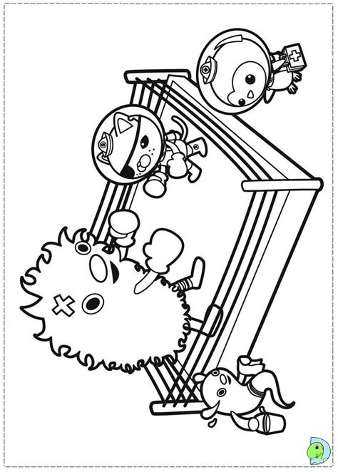 Gup C Coloring Page by Octonauts Coloring Pages Az Coloring Pages