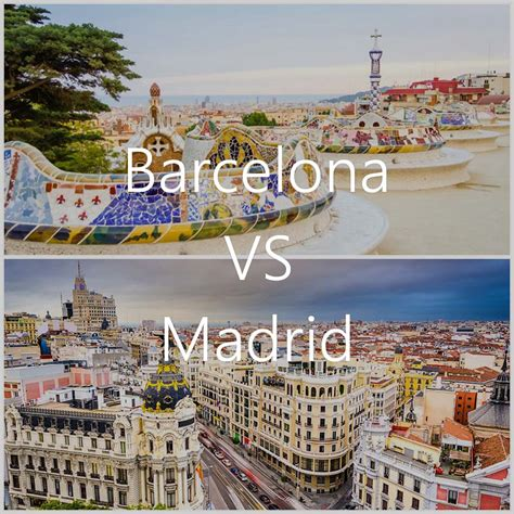 barcelona to madrid barcelona vs madrid