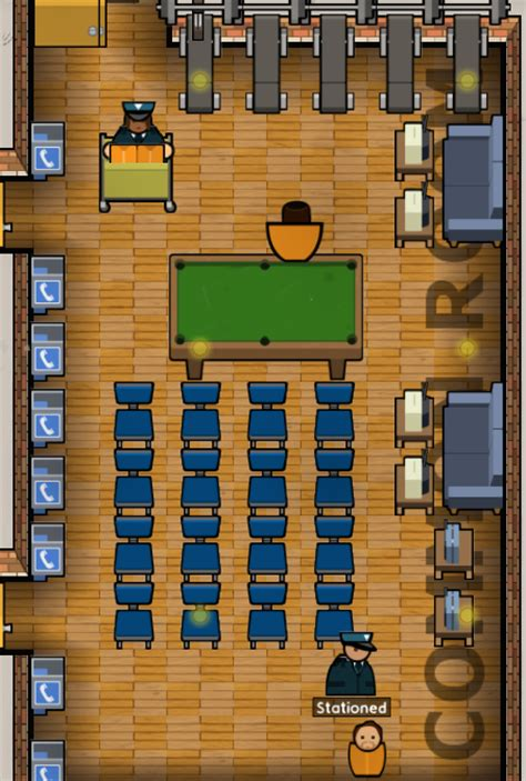 Prison Architect Staff Room by Common Room Prison Architect Wiki Fandom Powered By Wikia