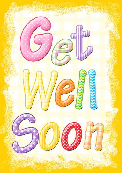 printable get well soon card templates printable get well cards