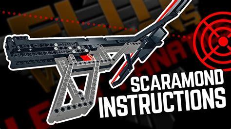 lego crossbow tutorial lego gun instructions the scaramond crossbow pistol youtube