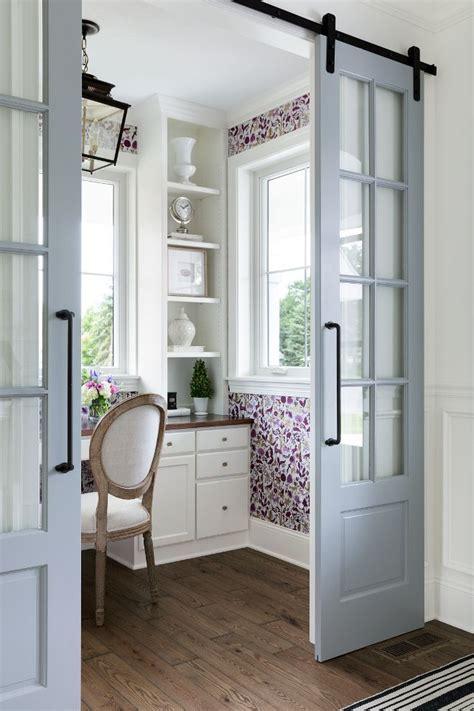 grey sliding barn doors paint color  sherwin williams