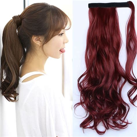 realistic drwa string pony tail hair 400 best hair extension synthetic hair images on pinterest