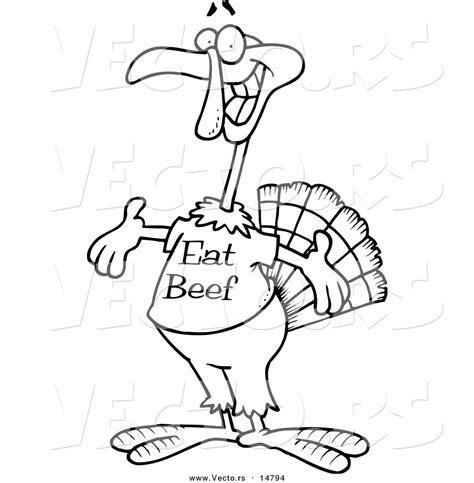 thanksgiving outline clipart 44 eat beef turkey clipart clipartxtras