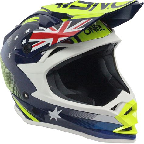 motocross helmets australia oneal 2018 mx 7 series evo australia dirt bike blue