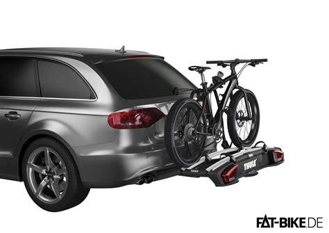 thule porta bici fatbike fahrradtr 228 ger thule f 252 r die anh 228 ngerkupplung