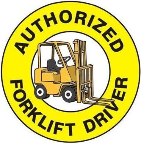 Traffic Light Order Hard Hat Labels Authorized Forklift Driver