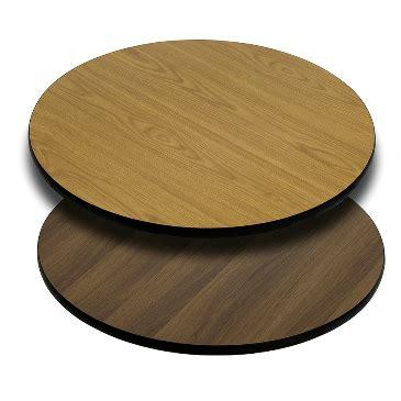 sided walnut laminate table tops