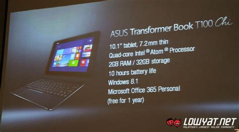 Laptop Asus Zenbook Di Malaysia asus to launch transformer book t100 chi and zenbook pro ux501 in malaysia soon lowyat net