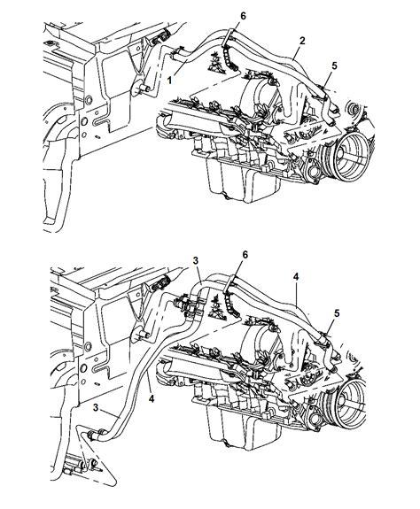 2007 Jeep Commander Engine Diagram Heater Hoses For 2007 Jeep Commander Mopar Parts