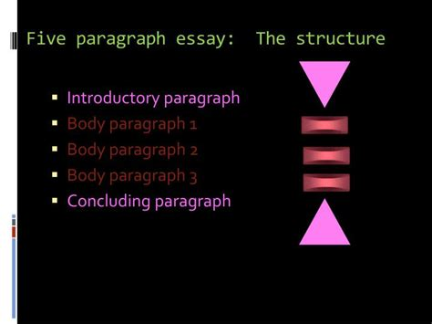 5 Paragraph Essay Powerpoint by Ppt Tips On How To Construct A Five Paragraph Essay Powerpoint Presentation Id 4625165