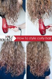i curly hair who do you style it for a who a boy how to style curly hair hair romance