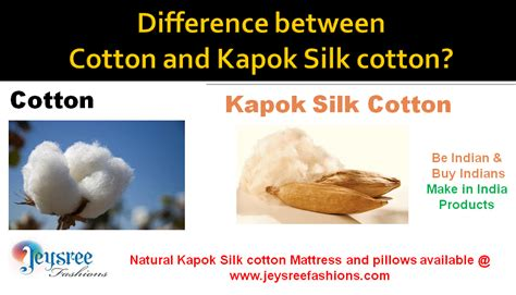 Difference Between And Mattress by Organic Kapok Silk Cotton Ilavam Panju Mattresses Cushions