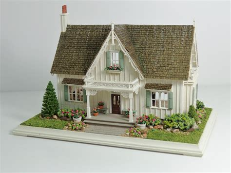 miniature homes models miniature miniatures nell corkin carpenter gothic