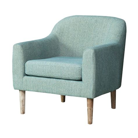 Blue Accent Chair Shop Best Selling Home Decor Winston Blue Green Accent Chair At Lowes