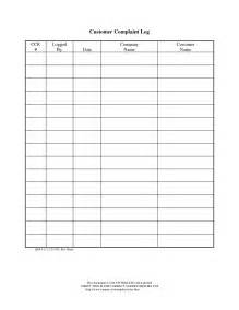 customer service spreadsheet template best photos of customer service log template customer