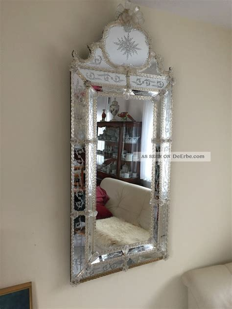 antiker venezianischer glas spiegel venezianischer spiegel murano