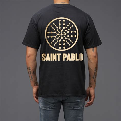 T Shirt Pablo black pablo tour t shirt wehustle menswear
