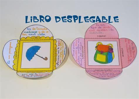 libro how children learn language escritura creativa libro desplegable para describir objetos lectura escritura bibliotecas