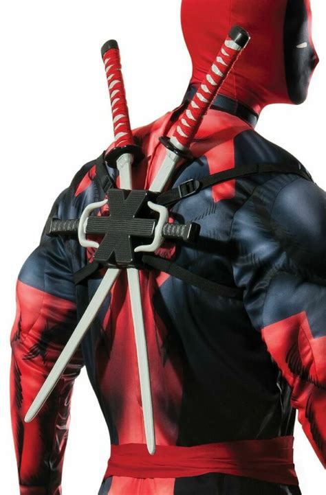 deadpool weapons swords knives dead pool costume accessory