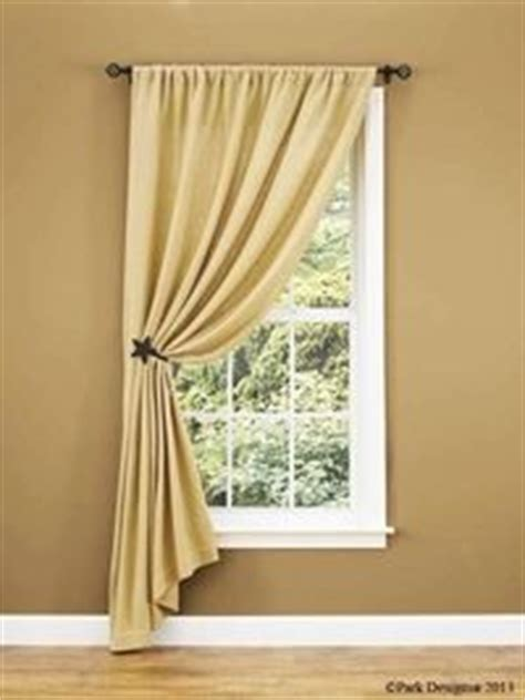 curtain holdback placement single panel with tieback i like the placement of this