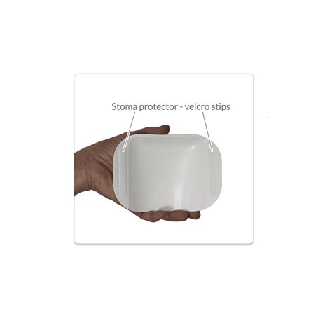 seat belt protector for stoma optional stoma protector for level 3 support belt or