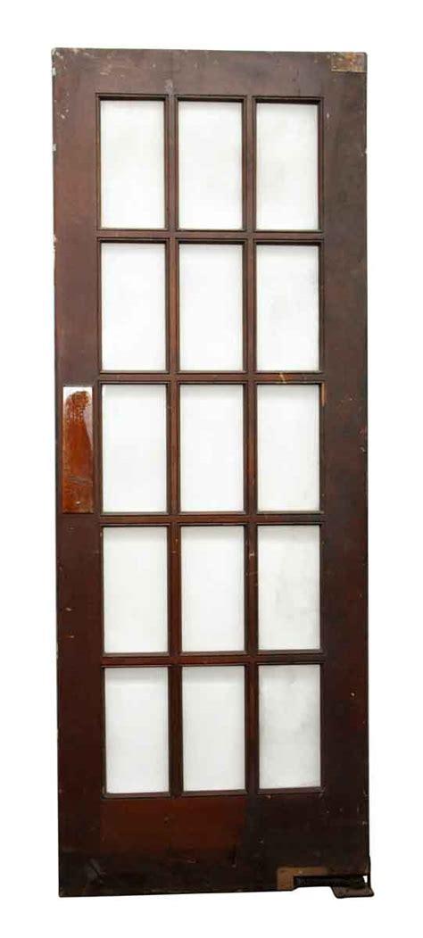 15 Glass Panel Door 15 Glass Beveled Panel Door Olde Things