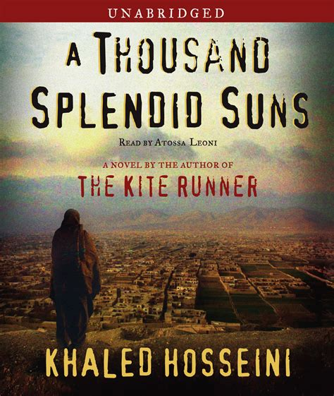 theme of family in a thousand splendid suns a thousand splendid suns audiobook by khaled hosseini