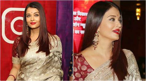 aishwarya rai sari aishwarya rai bachchan looks like a dream in a sabyasachi