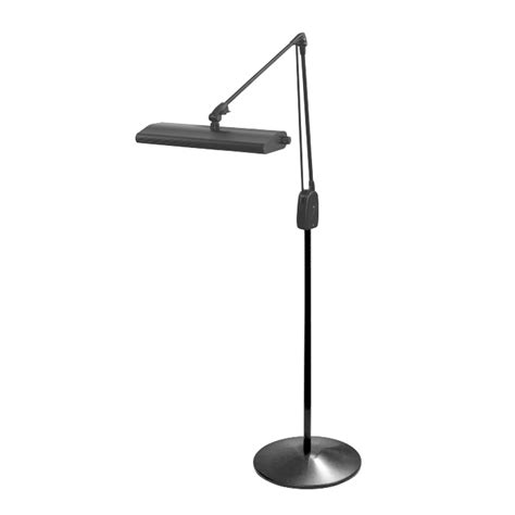 Stand Light Dazor Lumilus Led Weighted Floor Stand Task Light 41 In