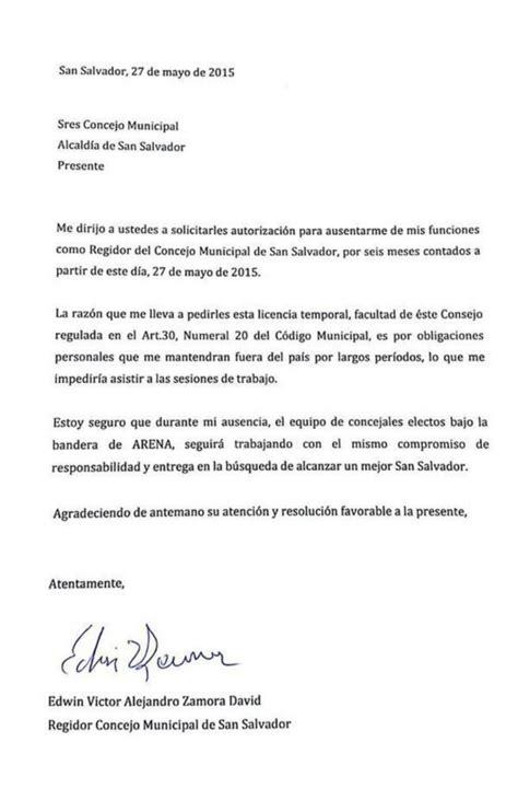 Concejal de ARENA en alcaldía de San Salvador solicita