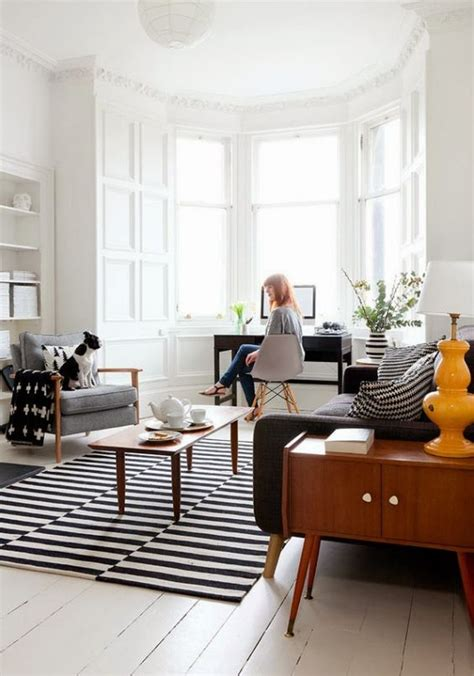 Ikea Uk Living Room Rugs by 26 Ways To Use Ikea Stockholm Rug For Home Decor Digsdigs