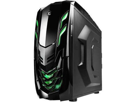 Casing Raidmax Viper raidmax viper gx atx 512wbg black green steel plastic atx mid tower computer newegg