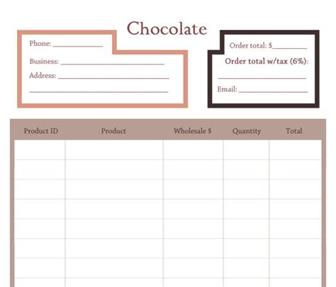 Permalink to Order Form Template Pages