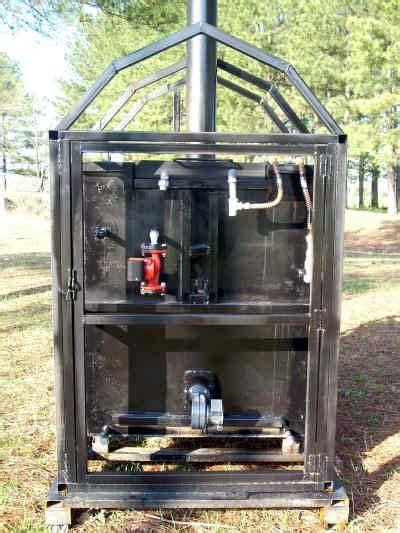 backyard steel furnaces plans how to build a wood burning outdoor furnace