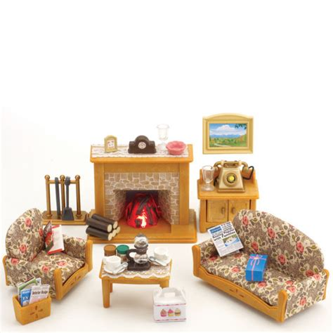 Sylvanian Families Living Room Set Sylvanian Families Country Living Room Set Toys Thehut