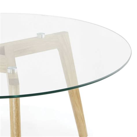 Table Basse Transparente But by Table Basse Quot Kastra Quot Transparent