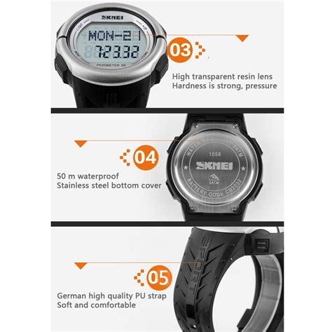 Jam Tangan Pengukur Jantung jam olahraga lari alat pengukur detak jantung dalam pergelangan tangan harga jual