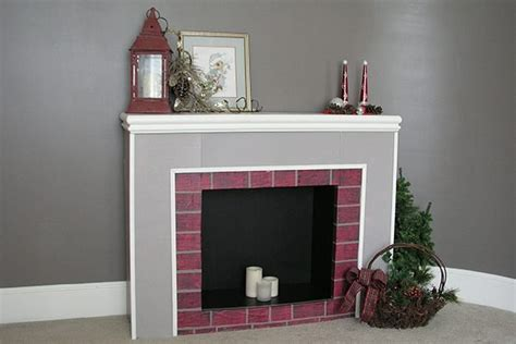 Cardboard Fireplace For by Warm Your Home And Welcome Santa With This Cardboard