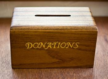 How To Make A Donation Box Out Of Paper - donations wirt i綣 綮ejtun