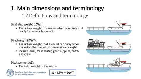 boat lightship definition stability of fishing vessels