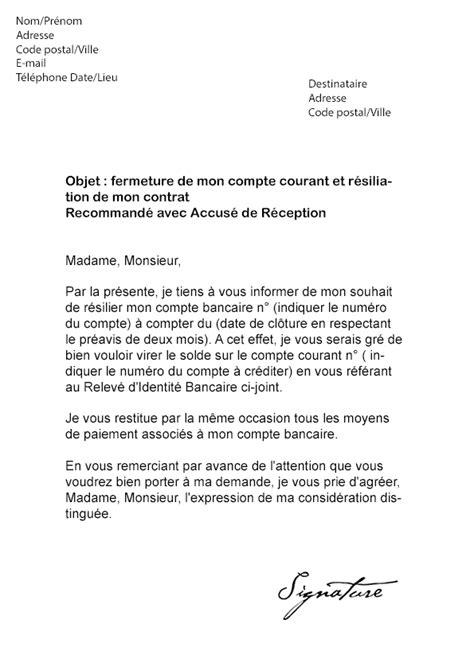 Lettre De Motivation Pour Conseiller Banque Lettre De R 233 Siliation Lcl Mod 232 Le De Lettre