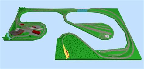 tamiya track layout software model train layouts track plans various projects