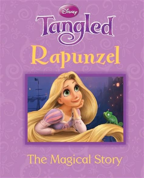The Magic L Story by Tangled Rapunzel The Magical Story Scholastic Club