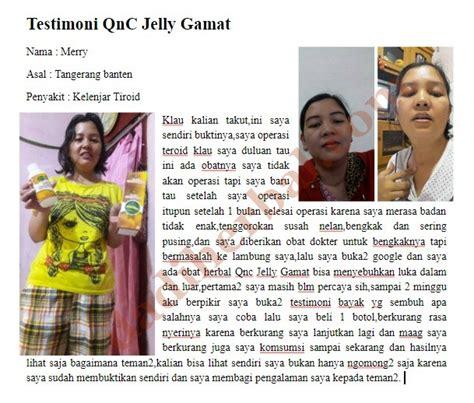 Qnc Jelly Gamat Untuk Rambut khasiat dan manfaat qnc jelly gamat untuk kelenjar tiroid