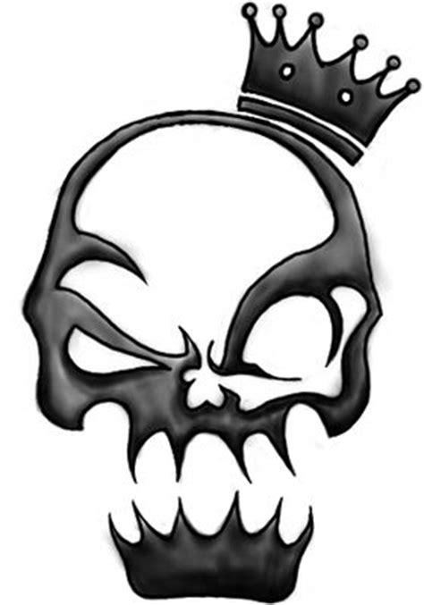 simple skull tattoo designs skull tattoos skull designs tribal skulls