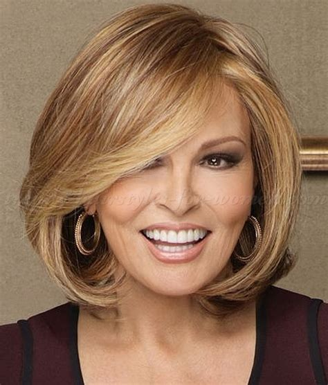 mid length women s haircuts for 50 years old shoulder length hairstyles over 50 medium length bob