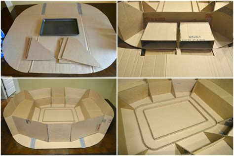 How To Make A Football Stadium Out Of Paper - how to build the ultimate snack stadium